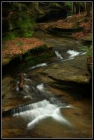 Old Man's Cave Cascade by MariusStormcrow