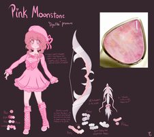 Pink Moonstone by funCatty