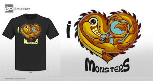 I LOVE MONSTERS 01 by nono14