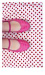 Pink Shoes and Polka Dots by OrdinaryThing