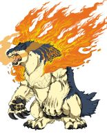 Typhlosion by TheLaughingChimera