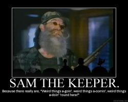 Sam The Keeper by Dumpster-Diver