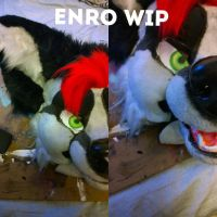 Enro Partial | WIP 2 | COMMISSIONS OPEN by RancidRampage