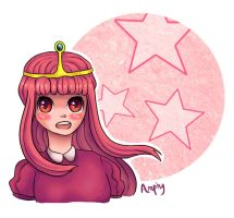 Princess Bubblegum by Amphany