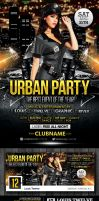 FREE Urban Party | Flyer + Facebook Cover by LouisTwelve-Design