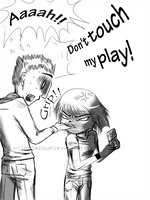 Don't touch my play by DredaSM