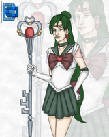 Sailor Pluto 03092011 by BLUEamnesiac