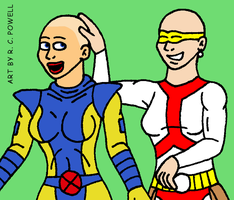 Madame Cueball's Salon - Jean Grey by Rennon-the-Shaved