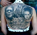 Frankenstein Backpiece by TodoArtist