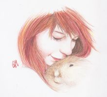 Nadia Esra and Rabbit by nicolemr-93