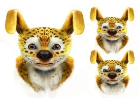 Marsupilami character deisgn by CyrilT