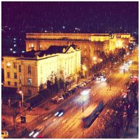 The street of Belgrade by Sandrita-87