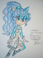 New Character- Charys the Hedgehog -REDESIGN by Madame-Finitevus1890