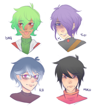 [OCS] Vemma Fighters by BurntUniverse