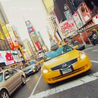 Times Square by JeanFan