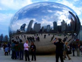 Life Inside the Cloud Gate by EpicPseudonym