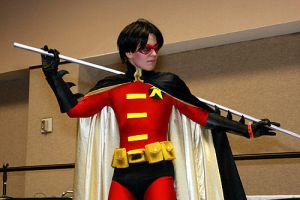 Megacon- Robin 1 by bluewolfskye
