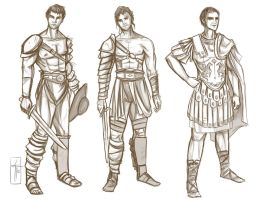 Character Sketches by LauraTolton