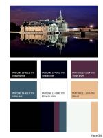 Balmain inspired collection color card and barcode by BloodyVampres