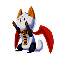 Mortel- Chibi commision by ToonieCheckers