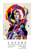 Layers Poster Erik Jones show by theirison