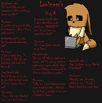 Lonliness's Q and A Page 20 by lonlinessplz