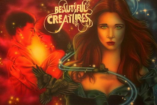Beautiful Creatures by mariolovesart