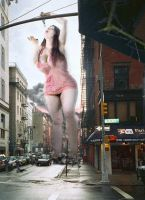 More vore, curves and giantess by ureich