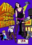 Attack of the Fifty Foot Amazon by The-Darkwolf