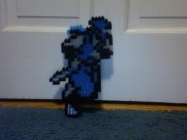 Pixelblocks- Ryu Hayabusa by TheInsanityZone