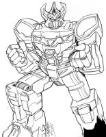 Megazord by Optimus8404