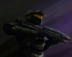 The Master Chief by matt-bryan