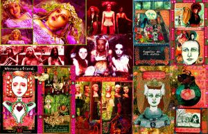 Rasputina Quilt. by PeelOutTheWatchword