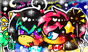 New Years Kiss (Bro and Sis) by PoyosEpicProductions
