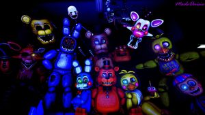 [SFM/FNAF2] The Five More Nights by MadsDaisie
