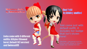 [MMD] Rummy DIroha and Yuki COLLAB +DL by Ashley-andRed