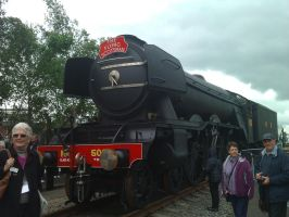 Scotty at Railfest by YanamationPictures