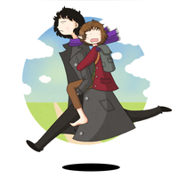 Sherlock and Bilbo by ice-cream-skies