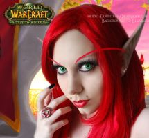 . blood elf . by Countess-Grotesque