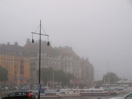 Stockholm Misty Morning 01 by Luddox