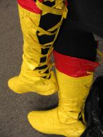 Elecman Cosplay Boots by ThisMechaJunkie