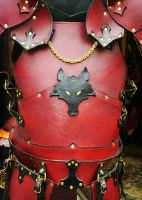 Gothic Wolf Breastplate by Dmitriwolf