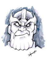 Thanos by Chris Fulton by IamSpeck