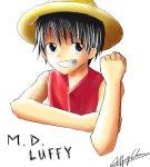 Luffy (colored) by JeezImSoBored