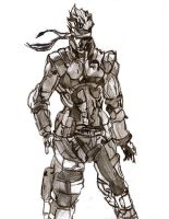 Solid Snake by ChocolateBiscuits