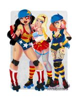 DC Derby Babes by dsoloud
