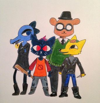 night in the woods  by zoozybeencloned