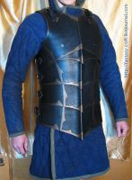 Leather body armour by Fantasy-Craft