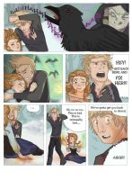 SCORCHED (Frozen graphic novel) Page 4 by RemainUndefined