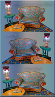 Cartoon-like furniture by WDWParksGal-Stock